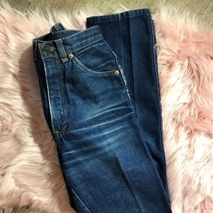 Levi's Jeans - Vintage embroidered high rise Levi Jeans